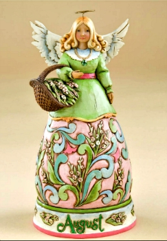 August Birthday Month Angel by Jim Shore Heartwood Creek