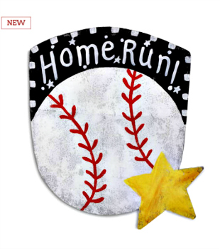 Baseball Door Hanger **NEW - NOW AVAILABLE**