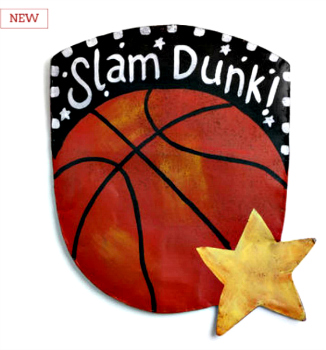 Basketball Door Hanger **NEW - NOW AVAILABLE**