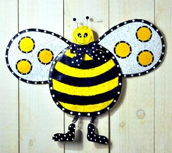 Bumblebee Door Hanger
