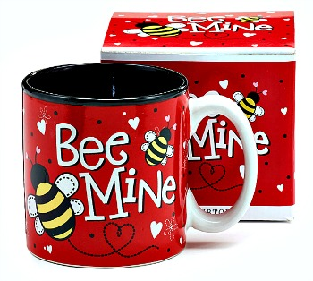Bee Mine Valentine's Day Mug