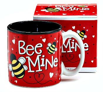 Bee Mine Valentine's Day Mug
