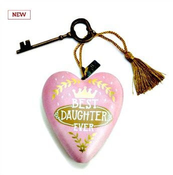 Best Daughter Ever Art Heart **NOW AVAILABLE**