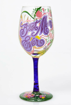 Best Mom Ever Wine Glass **NEW - NOW AVAILABLE**