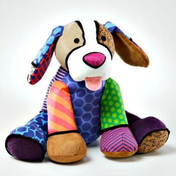 Britto Plush Canvas Puppy