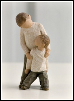 Brothers Figurine
