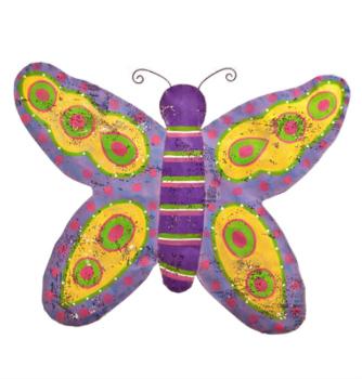 Butterfly Door Hanger from Silvestri Screenings by Artist Peri Woltjer