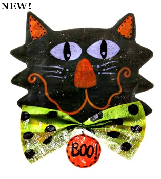 Cat Head Door Hanger **NEW**