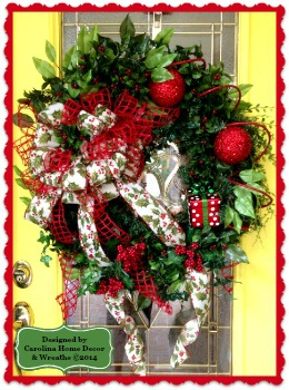 Christmas Wreath #22 **SOLD**
