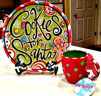 Cookies for Santa Plate/Mug Set