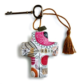 Courage Artful Cross **NEW - NOW AVAILABLE**