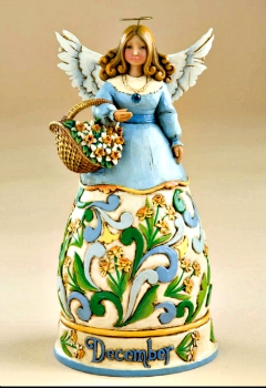 December Birthday Month Angel by Jim Shore Heartwood Creek*SOLD OUT*