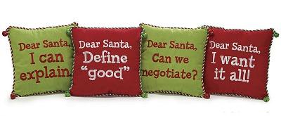 Dear Santa Christmas Pillows