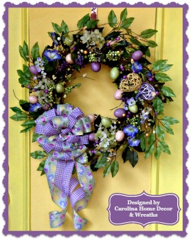 Easter/Spring Wreath #6 **SOLD**