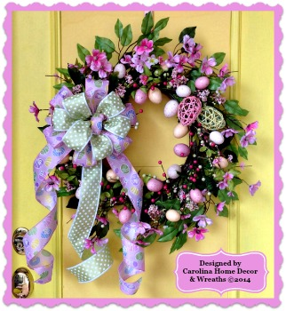 Easter/Spring Wreath #7 **SOLD**