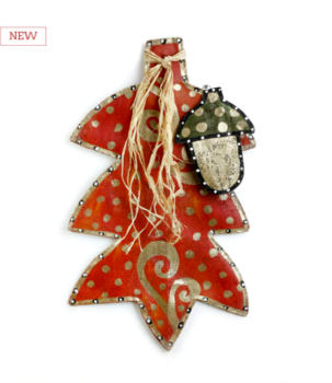Fall Leaf and Acorn Door Hanger **NEW - SOLD OUT**