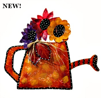 Fall Watering Can Door Hanger **BACK ORDER - NO SHIP DATE AVAILABLE**
