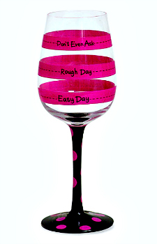 Fill Line Wine Glass