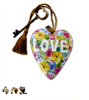 Floral Love Art Heart **SOLD OUT**