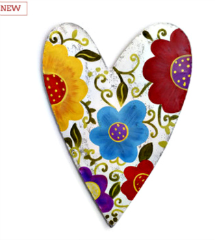 Floral Heart Door Hanger **NEW - NOW AVAILABLE**