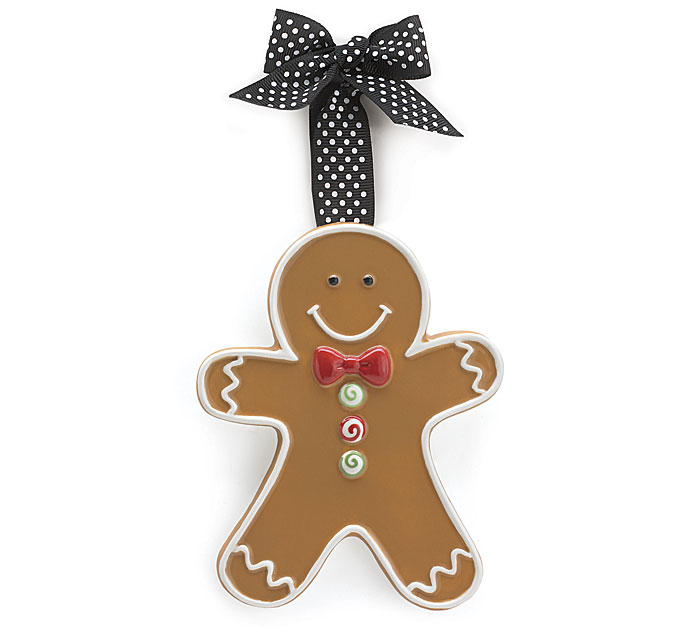 Large Ginger Bread Man Adornment
