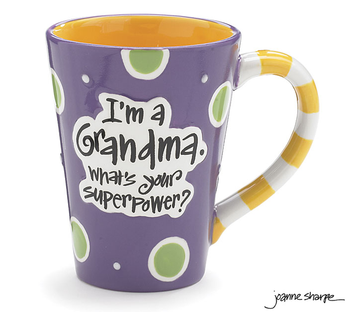 Grandma SuperPower Mug by Burton & Burton