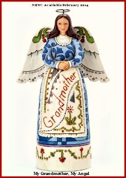 My Grandmother, My Angel - Grandmother Angel Figurine