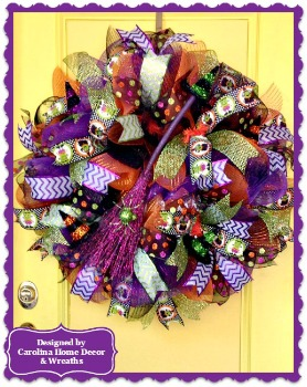 Halloween Wreath #4 **SOLD**
