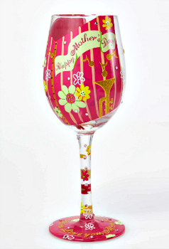 Happy Mother's Day Wine Glass **NEW - NOW AVAILABLE**