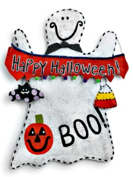 Happy Halloween Ghost Door Hanger **NEW - NOW AVAILABLE**