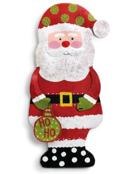 Ho Ho Ho Santa Door Hanger **NEW - NOW AVAILABLE**