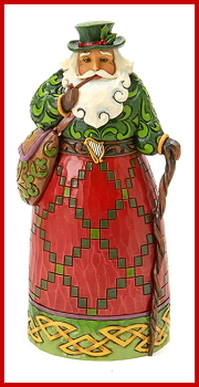 Irish Santa Figurine by Jim Shore Heartwood Creek
