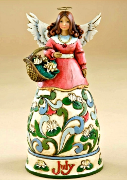 July Birthday Month Angel by Jim Shore Heartwood Creek