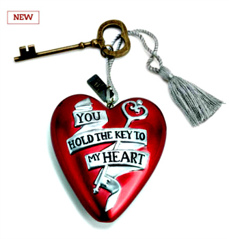 Key to My Heart Art Heart **SOLD OUT**