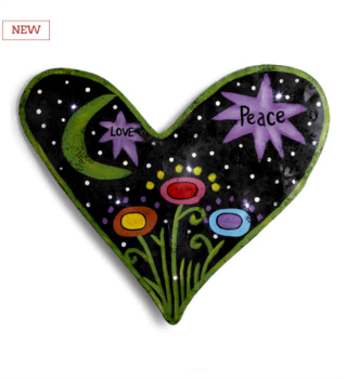 LIT Heart Night Sky Scene Door Hanger **NOW AVAILABLE**