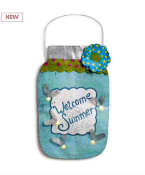 LIT Mason Jar Door Hanger **NEW**