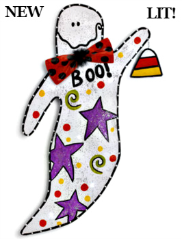 LIT Ghost Door Hanger **NEW - NOW AVAILABLE**