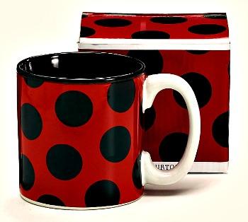 Ladybug Print Mug by Burton & Burton