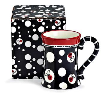 Ladybug Dots Mug **NEW**