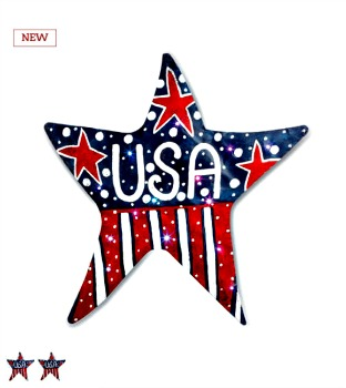 LIT USA Star Door Hanger  **NEW ITEM**