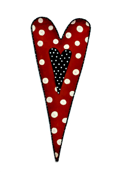 Long Heart Door Hanger **NOW AVAILABLE**