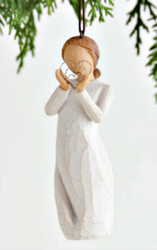 Lots of Love Ornament from Willow Tree by Susan Lordi **NEW - NOW AVAILABLE**