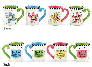 M.O.M. Mugs by Burton & Burton