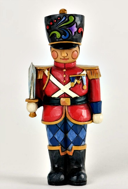 Christmas Toy Soldiers : Miniature toy soldier figurine