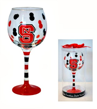 NCSU Wine Glass **SOLD OUT**
