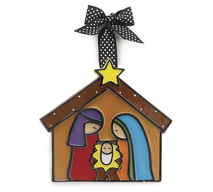 Large Nativity Adornment