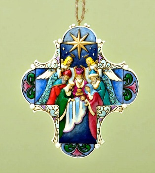 Nativity Cross Hanging Ornament**SOLD OUT**