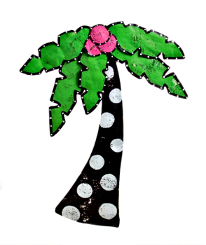 Palm Tree Door Hanger **SOLD OUT**