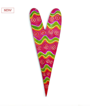 Patterned Heart Door Hanger **NEW - NOW AVAILABLE**