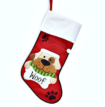 Paw Prints Dog Stocking **SOLD OUT**
